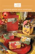 Stampin Up! Autumn Winter Mini Catalogue 2010