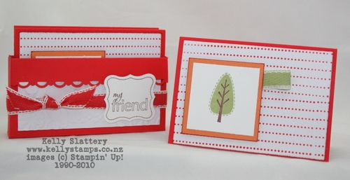 Stampin Up! Poppy Parade Gift Cards