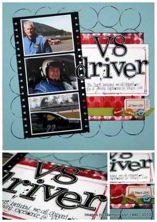 V8 Driver -Kelly Slattery