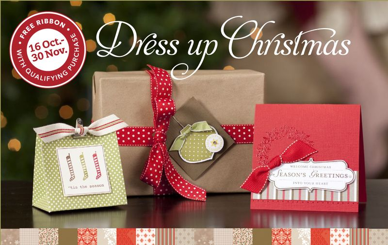 Stampin Up Christmas Promo 2010
