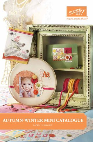 Stampin Up! Autumn Winter Mini Catalogue 2011